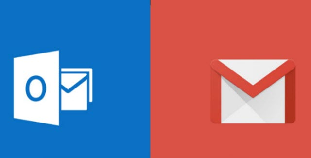 gmail and outlook
